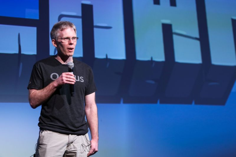 John Carmack, CTO of Oculus VR, as seen in 2016.