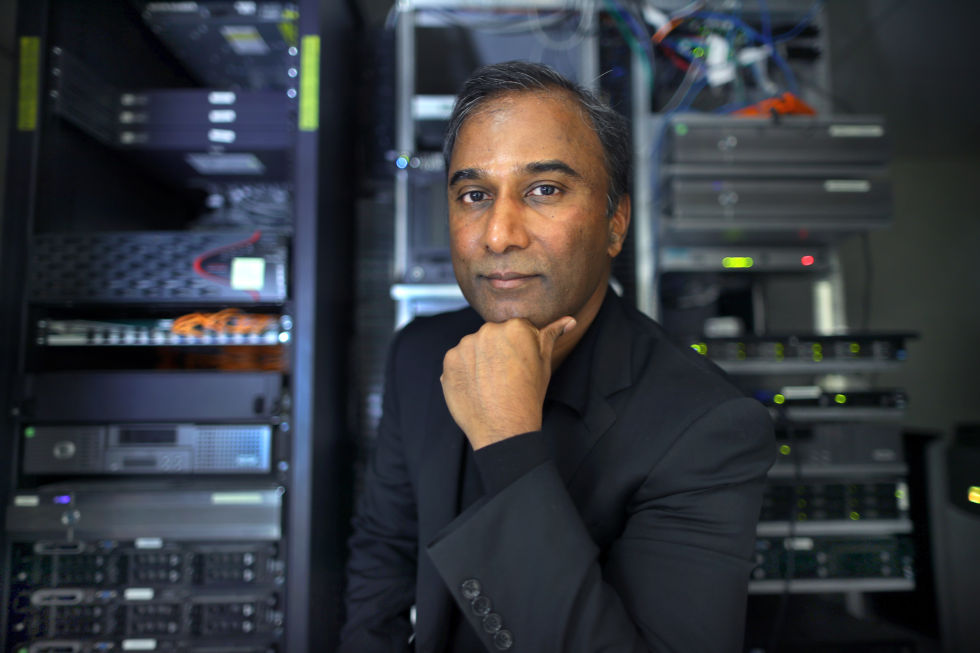 Shiva Ayyadurai, seen here in January 2017.