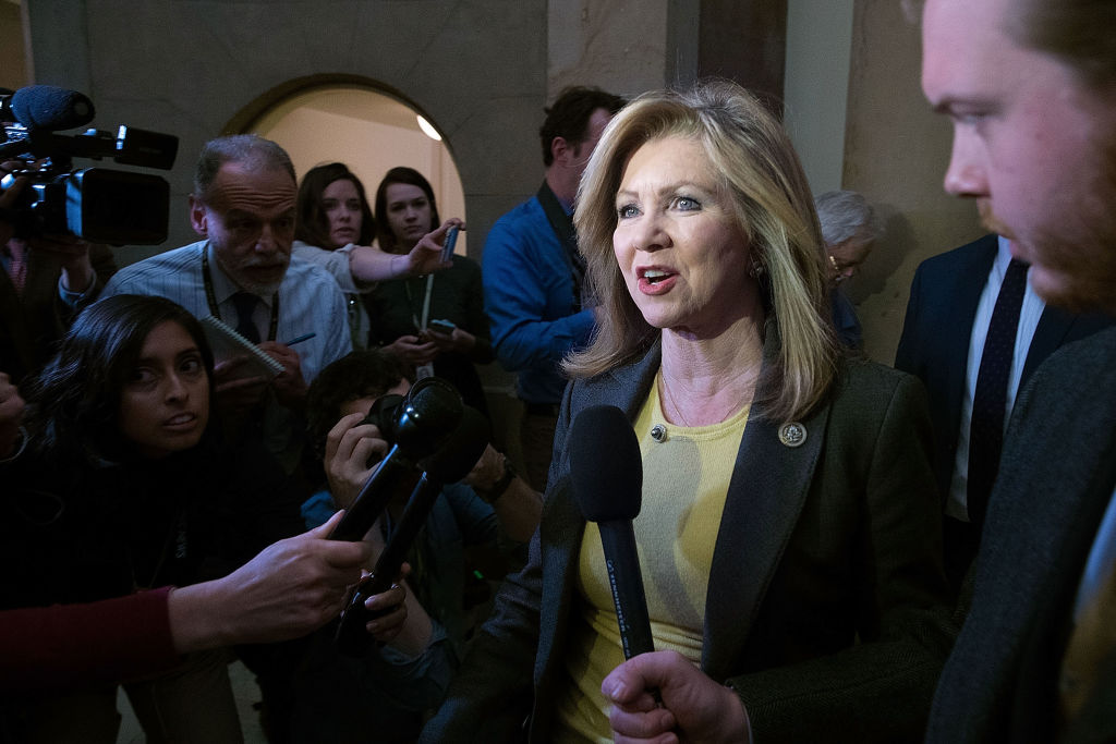 Rep. Marsha Blackburn (R-TN) introduced the privacy bill in Congress.