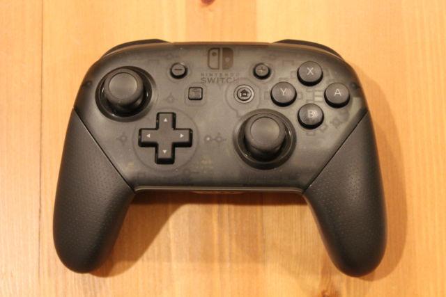 Nintendo's Switch Pro Controller.