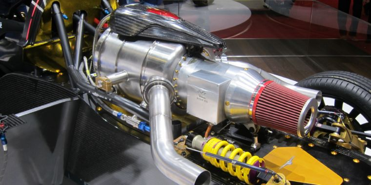 Techrules Shows How To Make Evs Interesting Just Add A Jet Engine Ars Technica