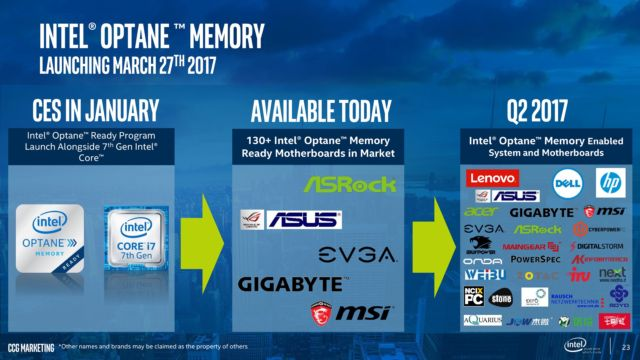 Intel's first Optane SSD for regular PCs is a small but super-fast