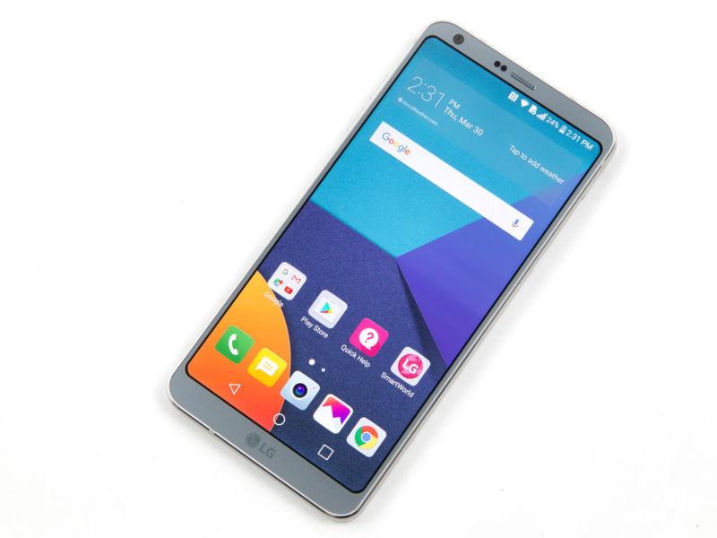 The LG G6.