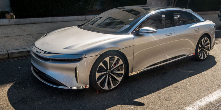 tesla might have real competition soon�meet the lucid air