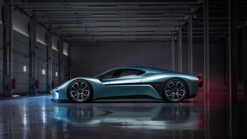 Watch Nio's 1 megawatt EP9 smash the Nürburgring electric vehicle lap record