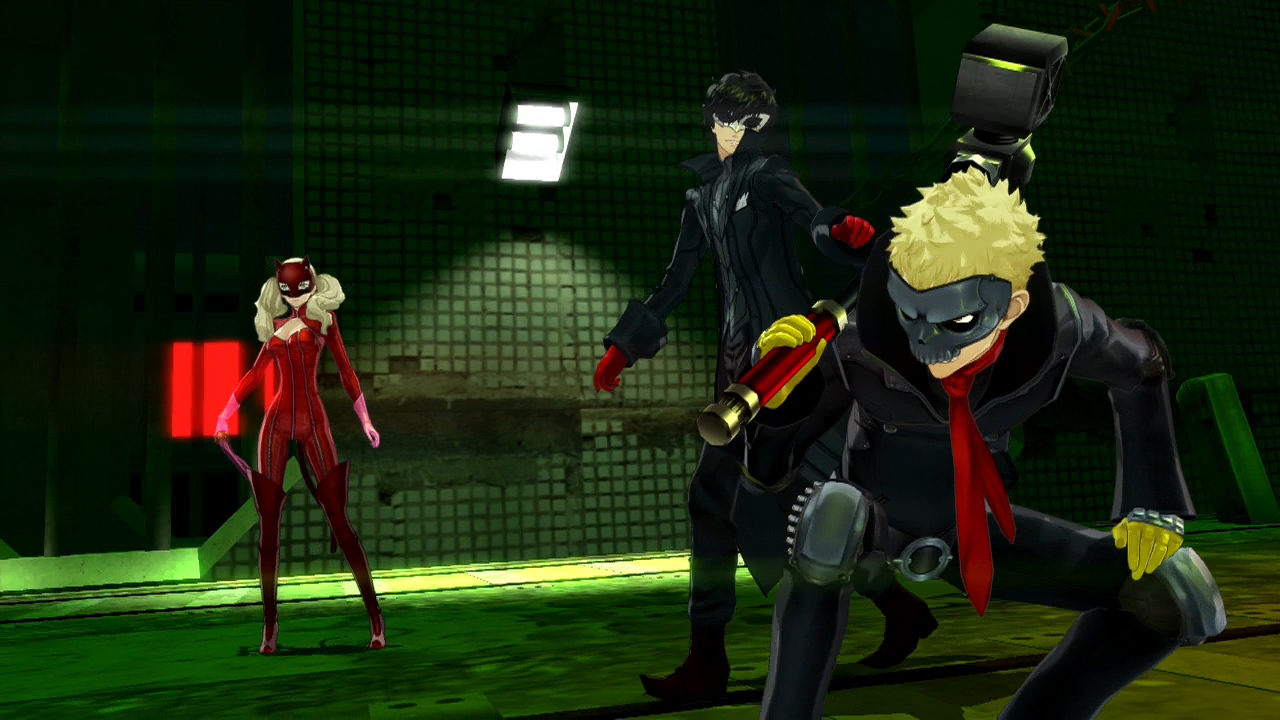 The Phantom Thieves love leather.