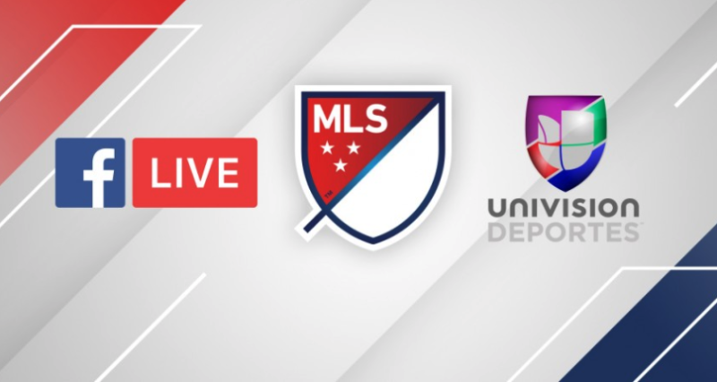 Facebook signs deal with MLS, Univision to stream live soccer games
