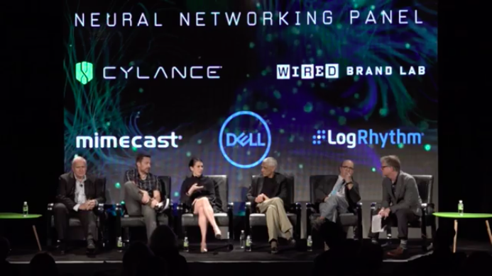 "Cylance was featured in a <a href=""https://www.facebook.com/WIREDInsider/videos/1349682701759697/"">Wired Brand Lab</a> discussion at RSA 2017 (seated second from the right is Matt Wolff, chief data scientist at Cylance)."