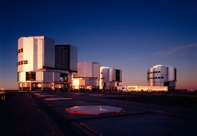 The European Southern Observatory's Very Large Telescope, based in Chile.