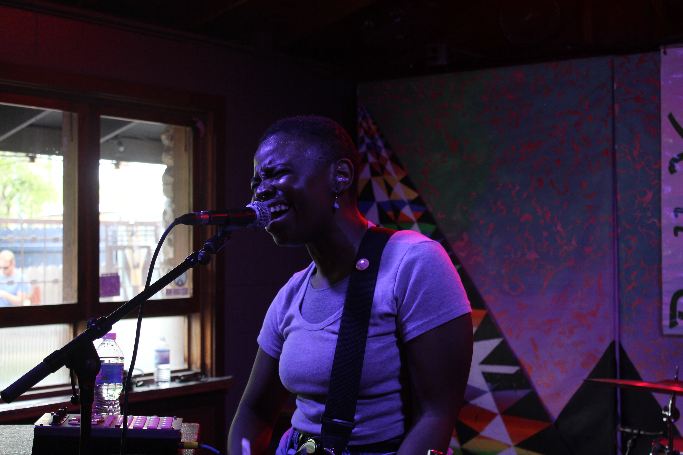 Here's Vagabon at SXSW in simpler times (2017... though she does have a new Sirius XMU session episode available on demand).