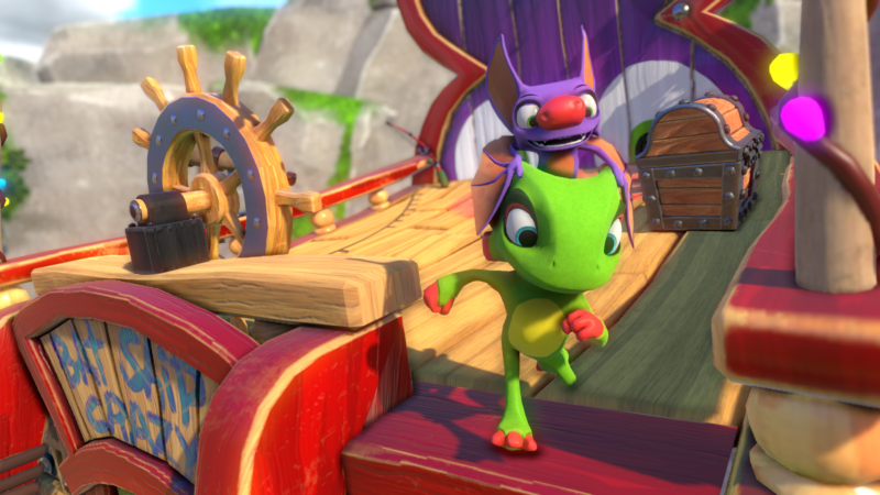"Yooka-Laylee: ""We've always tried to put style over technical brilliance"""
