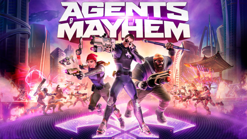 Agents of Mayhem: The Saturday morning cartoon of open-world shooters