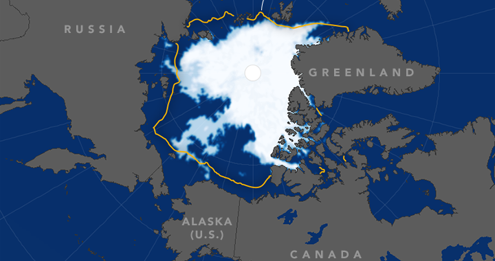 photo image Natural variability has boosted Arctic sea ice loss