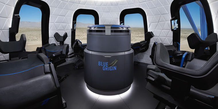 Blue Origin Teases More Images of its New Shepard Capsule