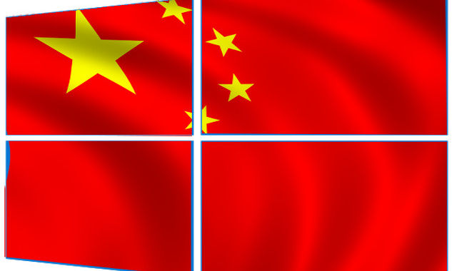 Red Flag Windows: Microsoft Modifies Windows OS for Chinese Government
