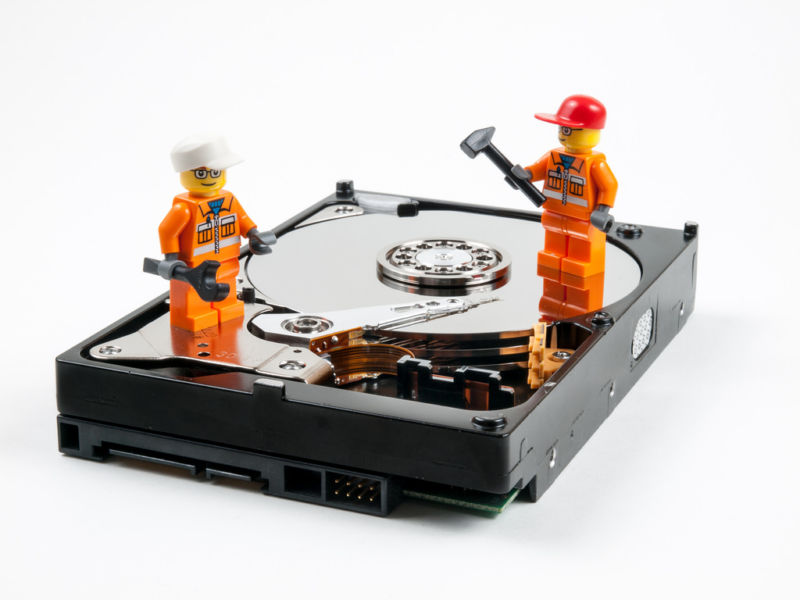 This hard drive will self destruct. Data-wiping malware targets ...