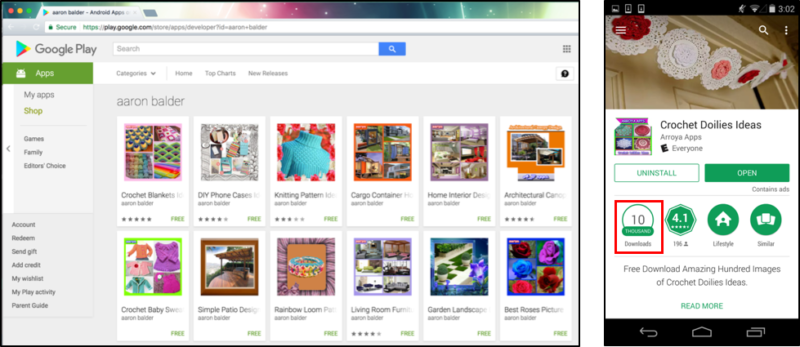 132 Google Play apps tried to infect Android users with... Windows malware