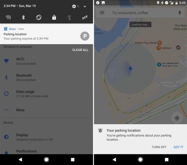 Google Maps adds a sweet new parking spot saver | Ars Technica