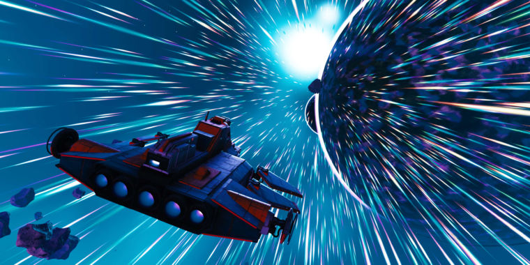 With latest update, No Man's Sky is an amazing photography tool