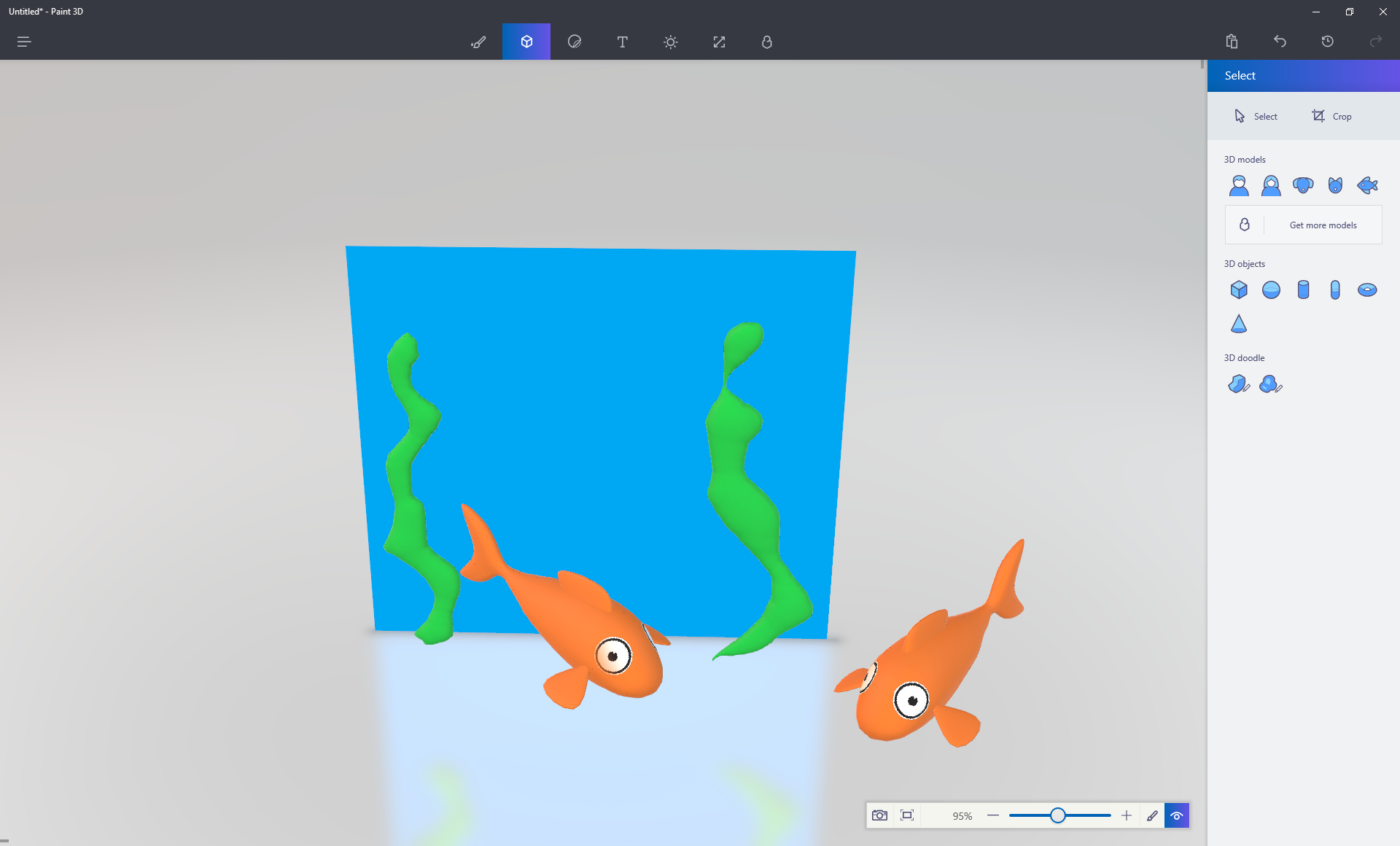 Paint 3D would probably be more valuable for someone with artistic talent.