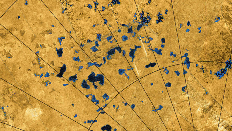 The lakes of Titan may have highly charged dunes on their shores.