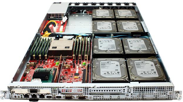 Qualcomm Centriq 2400 server for Project Olympus.