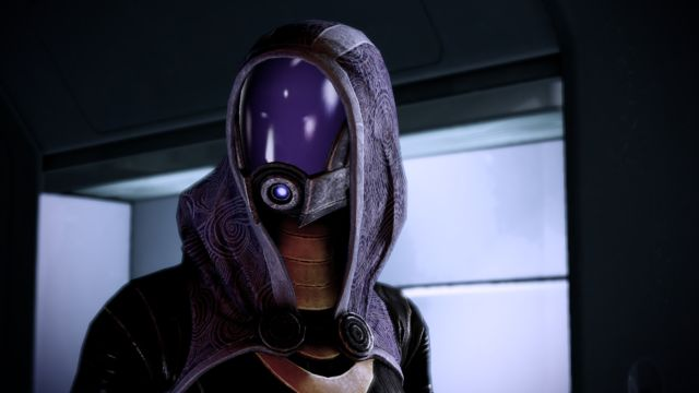 """I ain't trying to get my <a href=""https://www.youtube.com/watch?v=WvbmKWMhjb0"">my Tali'Zorah</a> blown to smithers."""