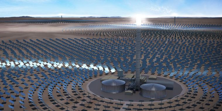 Three solar thermal plants in Chile could generate electricity 24 hours a day