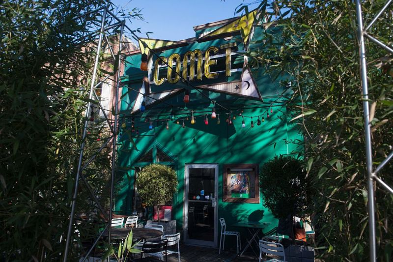 "The Comet Ping Pong restaurant in Washington, DC., where Edgar Maddison Welch stormed to ""self-investigate"" Pizzagate."