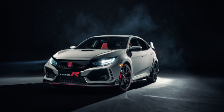 photo image First-ever US Honda Civic Type R finally arrives with 306 horsepower