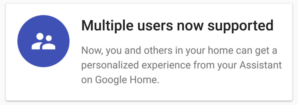 The message from the Google Home app. This is not true yet, but it's promising.