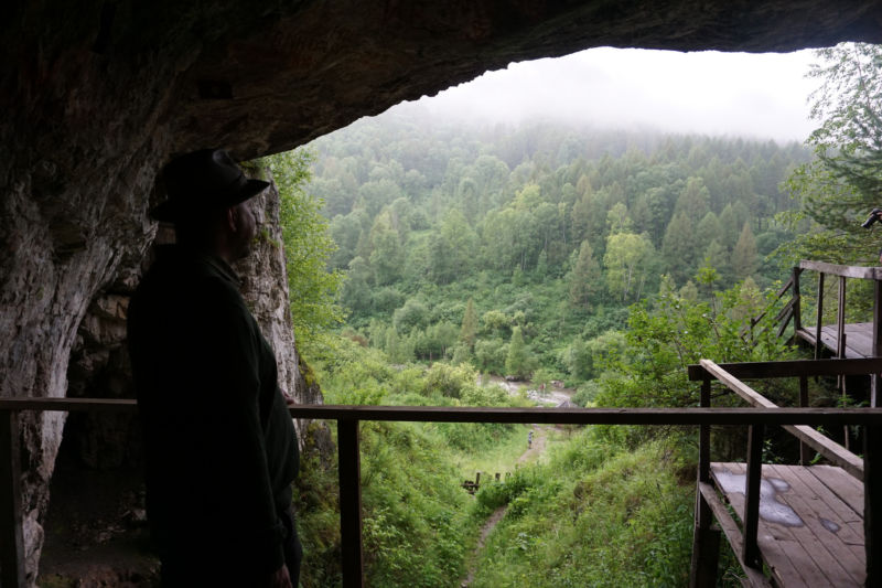 Neanderthals and Denisovans probably enjoyed the view from Denisova cave, too.
