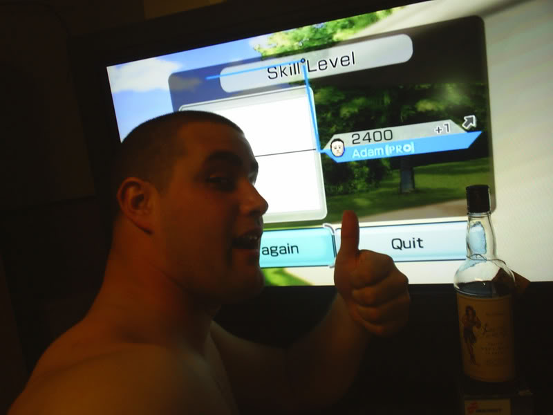 "Unless there's some magical, unknown way to alter photos, this is definitive proof of a 2400 <em>Wii Sports</em> skill rating.""><img alt="