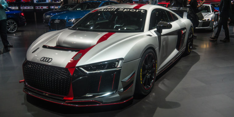 Audi Sport's new GT4 race car was star of its NY International Auto ...
