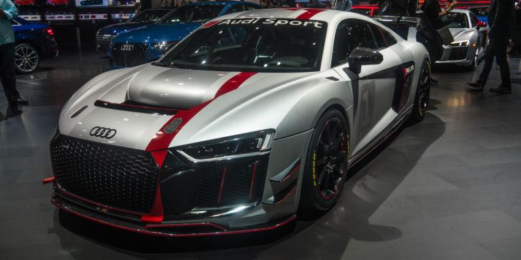 Audi Sport's new GT4 race car was star of its NY International Auto ...