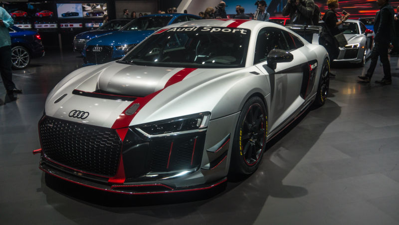 Audi Sports New GT Race Car Was Star Of Its NY International - Sports car cost
