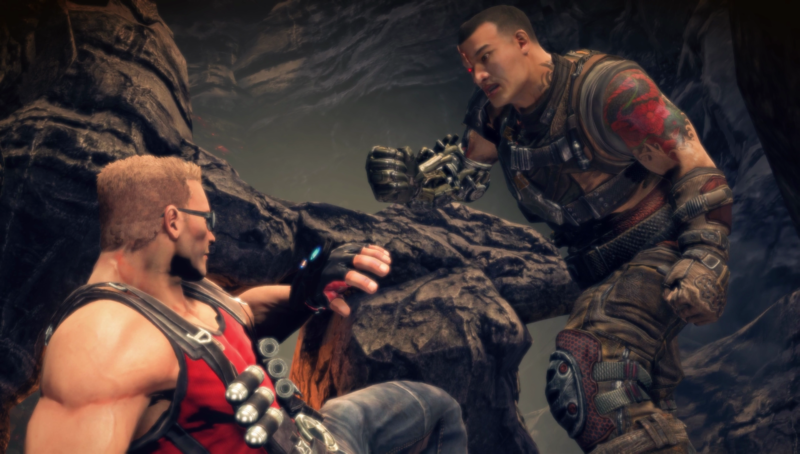 Ishi, Ishi, calm down. I'd be angry at Duke Nukem after seeing how weirdly he was shoehorned into <em>Bulletstorm: Full Clip Edition</em>, too, but there's more to blame.