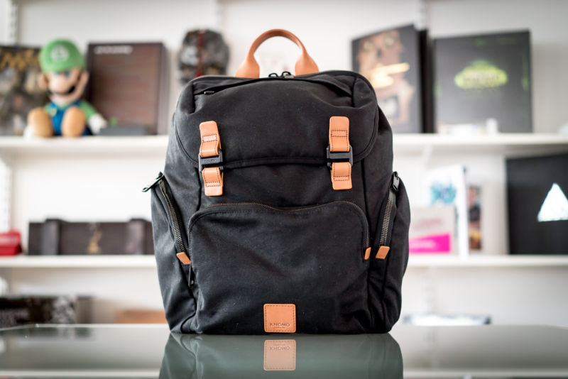 Knomo #LiveFree: A stylish tech backpack designed by non-techies