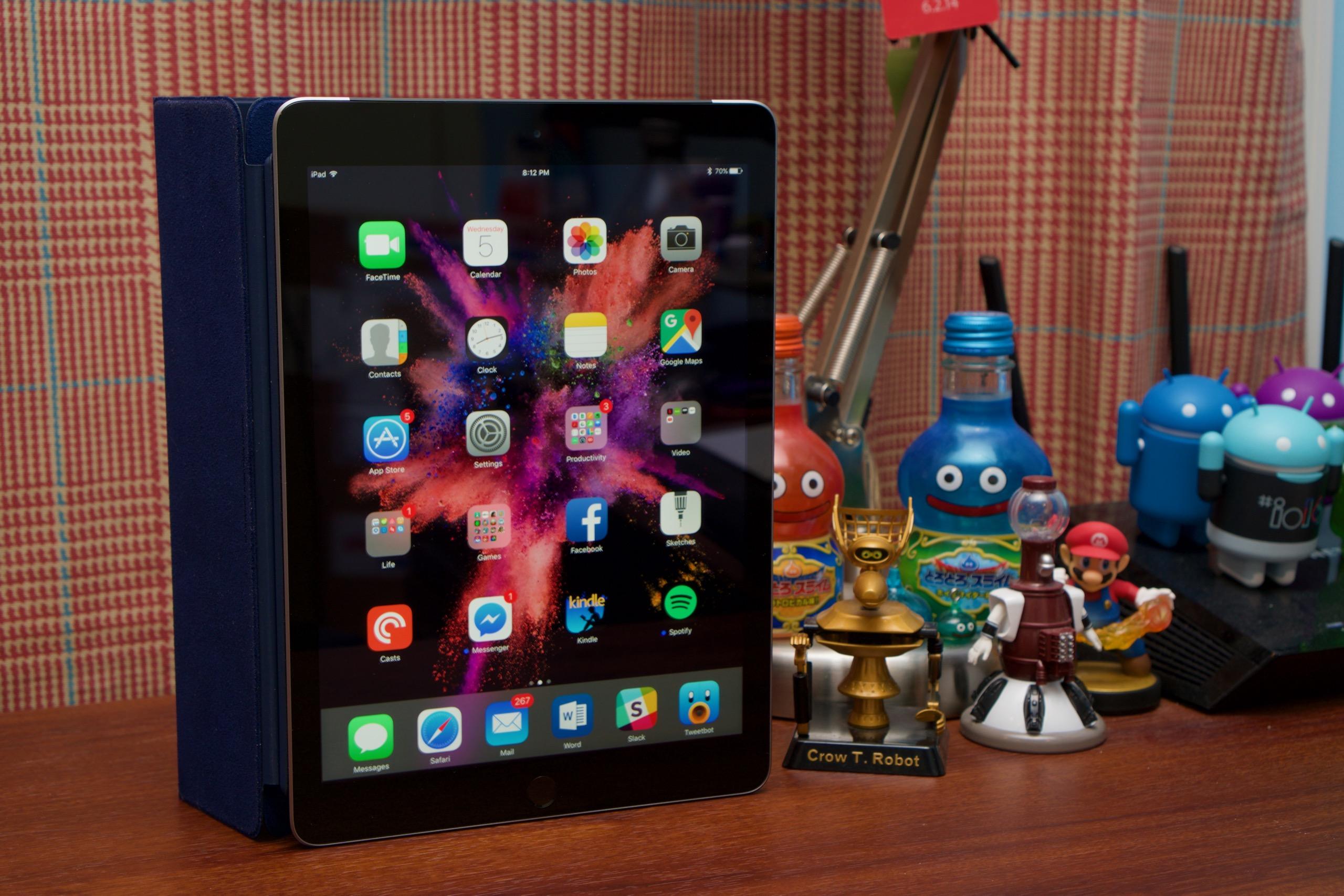 The fifth-generation iPad.