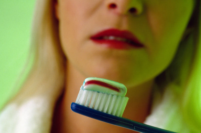 Triclosan, banned from soaps but not toothpastes, may help superbugs in gut