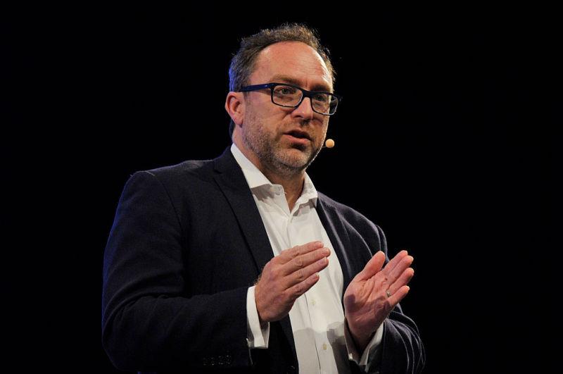Wikipedia cofounder Jimmy Wales.