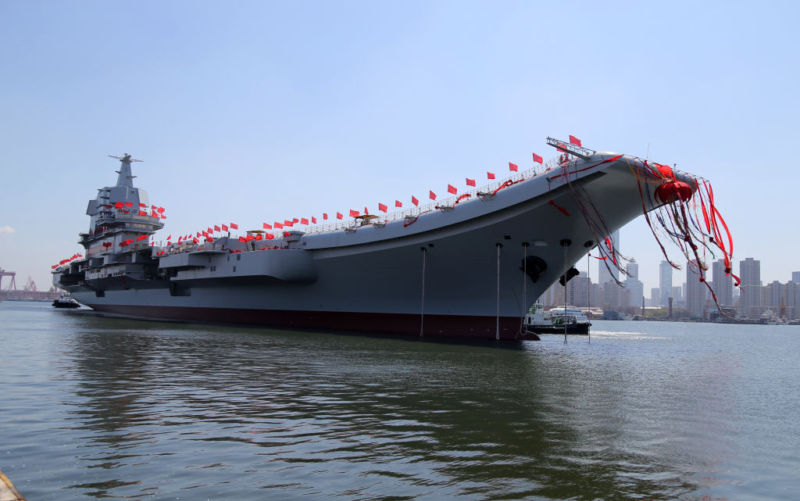 China launch new warship amid global tension