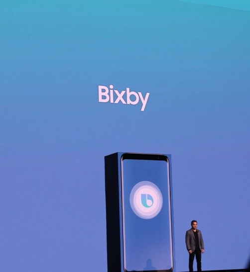 Bixby was introduced by Samsung at its Galaxy S8 reveal event in March.