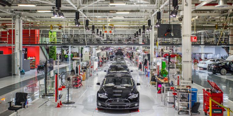 photo image Telsa recalls 53,000 vehicles built in 2016 over faulty parking brake