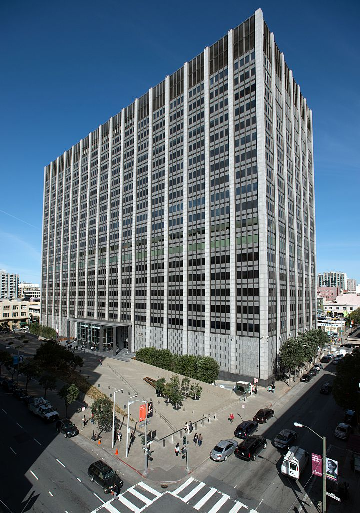 The US District Court building in San Francisco.