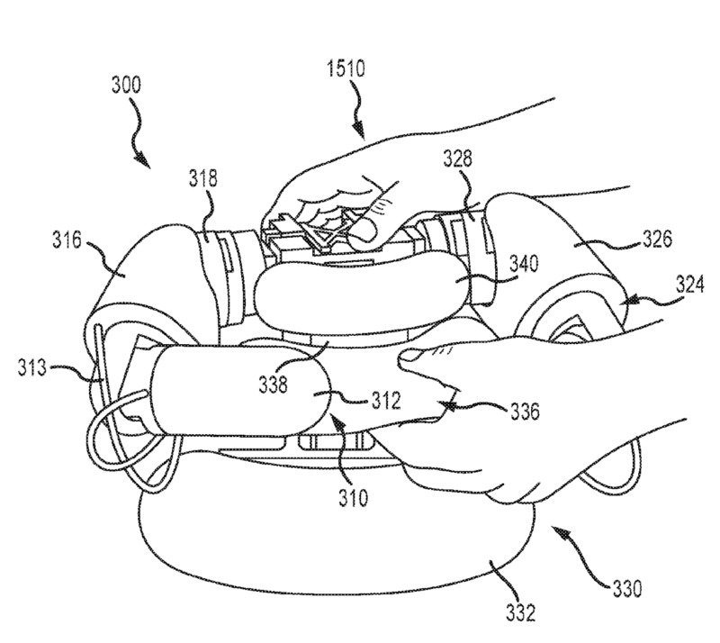Awwww, doesn't Disney's huggable patent prototype look so soft and cuddly?