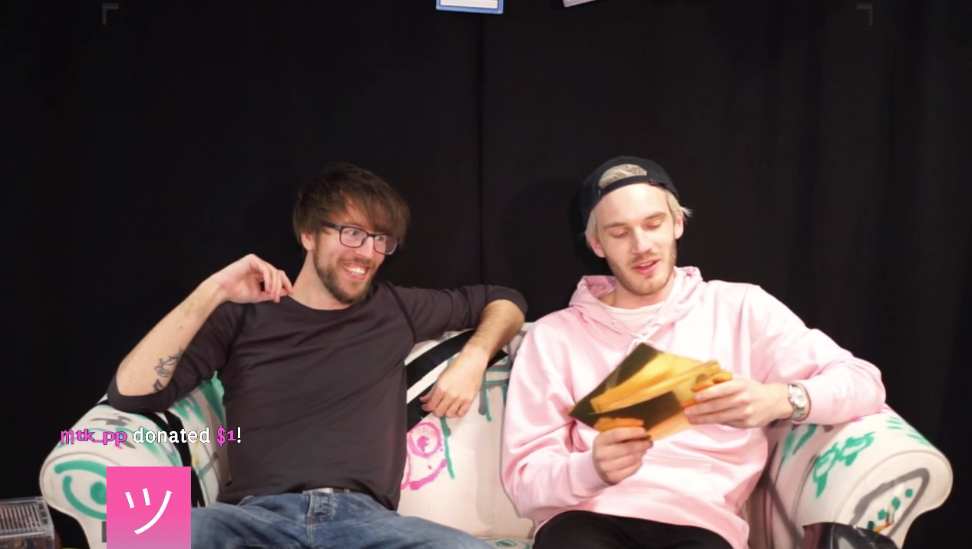 Pewdiepie starts crowdsourced channel on twitch with new weekly show enlarge m4hsunfo