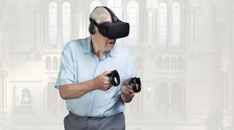 Hang out with a hologram of Sir David Attenborough thanks to VR