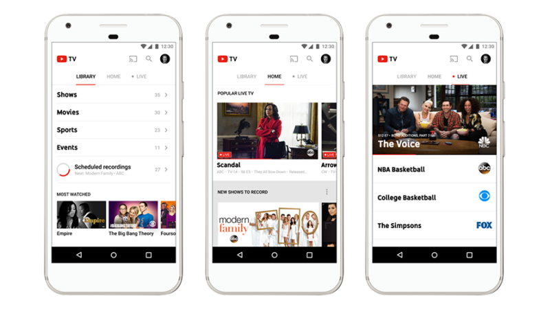 YouTube TV goes live today in five US cities, gears up to add more networks