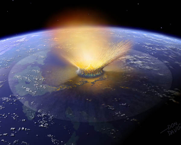 The end-Cretaceous mass extinction was rather unpleasant